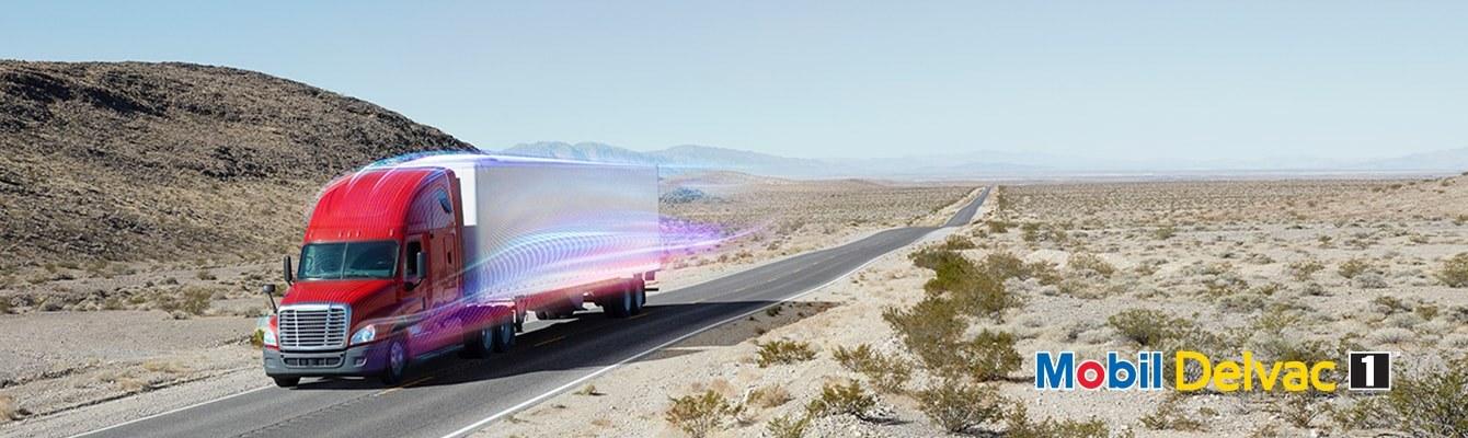 Mobil Delvac Truck Desert Screen Xl