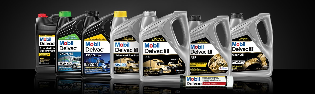 Mobil Delvac Product Lineup Screen Xl