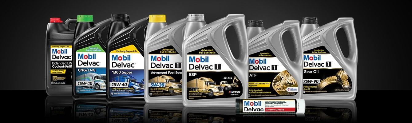 Mobil Delvac Product Lineup Screen Xl